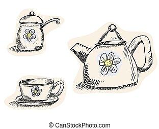 enjoy tea and good mood