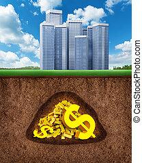 Money underground
