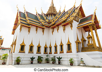 Wat Po temple, city of Bangkok