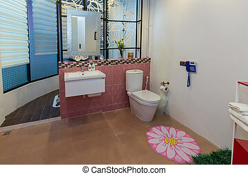 Modern styles of bathroom