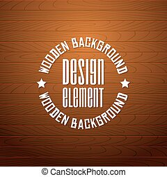 Vector wooden background with place for your text.