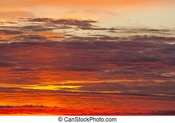 Texture, background. Sky background on sunrise. Nature composition.