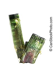 Watermelon tourmaline - Two large watermelon tourmaline...