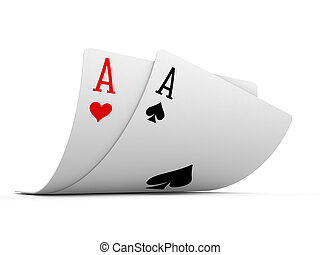 Pocket Aces - Isolated Pocket Aces