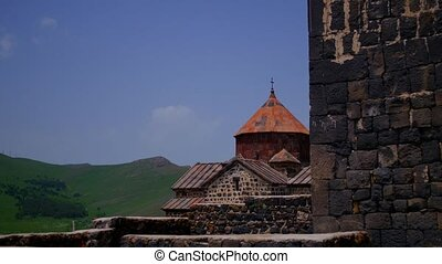 Ancient Monastery with Rolling Hills - Ancient Monastry with...