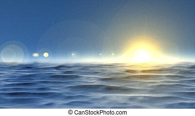 ocean background seamless loop