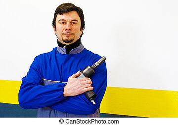 Mechanic Worker