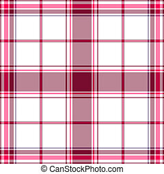 Seamless tartan white-lilas pattern - Abstract seamless...