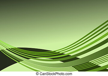 Wave pattern background - raster - Wave pattern in lime...