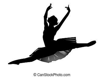 a, bailarina