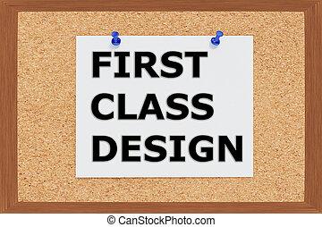 First Class Design concept