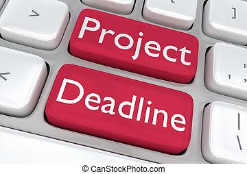 Project Deadline concept