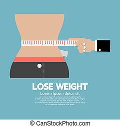 Lose Weight Concept.
