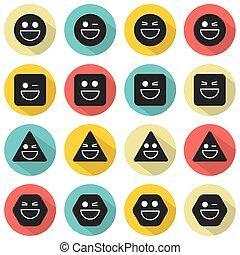 Temper Face Icon - Temper Face Icon Vector Illustration
