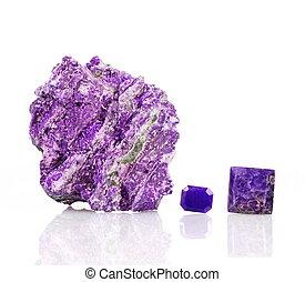 Sugilite or Luvulite - A specimen of Sugilite, or Luvulite,...