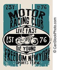 Vintage Motorcycle vector Setskull riders motorbike vector...