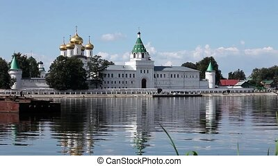 Ipatiev Monastery - Kostroma, Russia. July 12, 2015 View of...