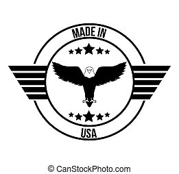 usa emblematic seal design, vector illustration eps10...