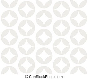 Subtle pattern with circle shapes. Vector art.