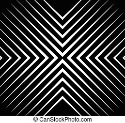 Abstract monochrome vector pattern / background. Seamlessly...