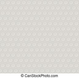 Cardboard, paper board seamless pattern with circles