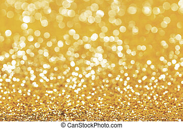 Abstract gold background - Abstract shining glitters gold...