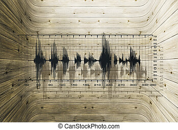 resonances - Uneven frequencies in a closed cavity made of...