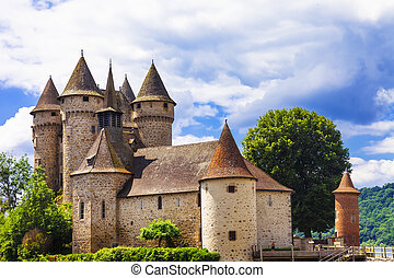 beautifu medieval castles of France - Chateau de val -...