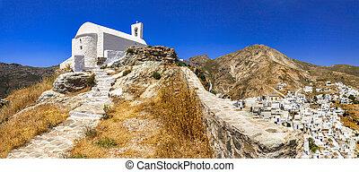 greece-,  Serifos, isla,  Cyclades, auténtico