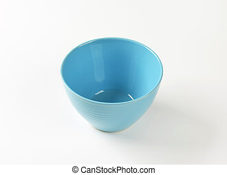 Deep blue bowl - Empty deep blue snack bowl