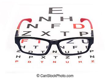 Eye glasses for better vision - Stylish pair of glasses over...
