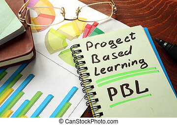 project based learning PBL - Notebook with project based...