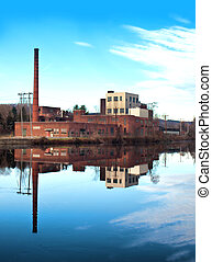 old , abandoned factory
