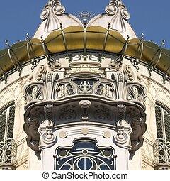 Casa La Fleur, Turin - Casa Fenoglio La Fleur, liberty house...