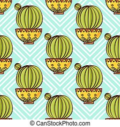 Trend of cactuspatterns - Trend of cactus patterns Bright...