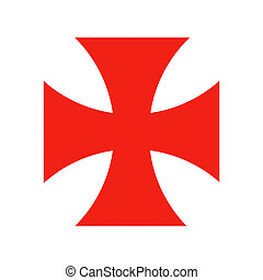 templar knights cross - templar knights red cross crusade...