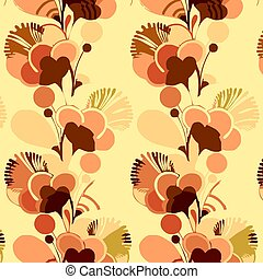 Flowers wallpaper - Psychedelic sixties flower power...