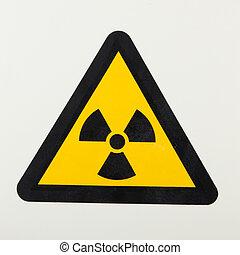 radiação, sinal,