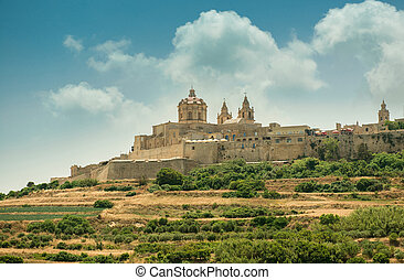 Mdina in the day Malta