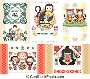 monkey illustrations 2016