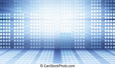 flashing stage lights abstract background