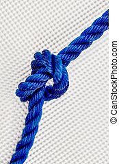 Rope - A studio photo of a rope knot