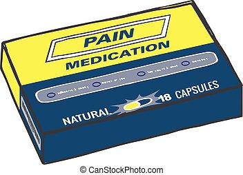Pain Medication Box