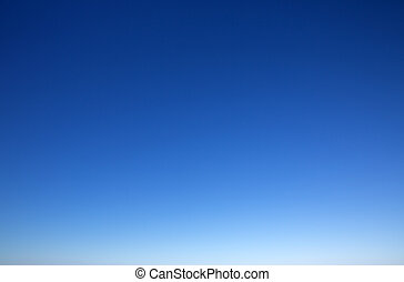 Clear blue sky background. No clouds