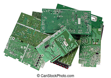 Printed-circuit boards are prepared for utilization