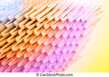 Color origami surface. Use for background or texture