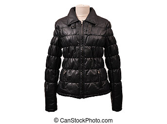 Isolated leather jackets - Real leather jacket from a...