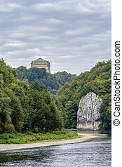 the picturesque banks of the Danube, Germany - the...