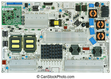 Power supply circuit  for TV