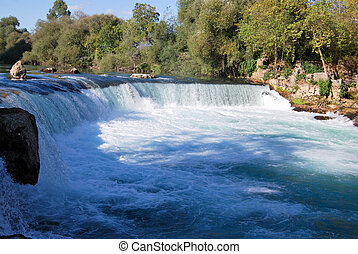 Turkey Antalya Manavgat waterfall, clean and crystal clear...